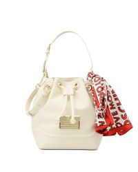 Love Moschino | White Bucket Bag | Lyst