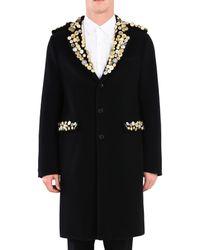 Moschino - Black Coat for Men - Lyst