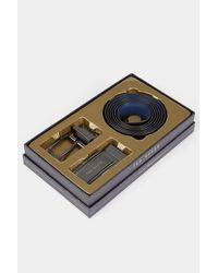 Ted Baker - Black Belt Gift Box for Men - Lyst