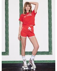Mother Denim - Red The Running Mate Sports - Lyst