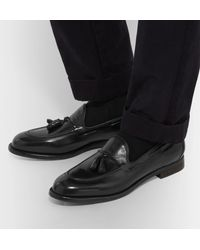 Officine Creative - Black Ivy Canyon Leather Tasselled Loafers for Men - Lyst