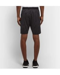 Adidas Originals - Black Hype Camo Mesh-panelled Climalite Shorts for Men - Lyst