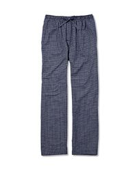 Derek Rose | Blue Checked Cotton-flannel Pyjama Trousers for Men | Lyst