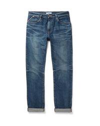 Nonnative | Blue Dweller Slim-fit Selvedge Denim Jeans for Men | Lyst