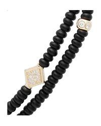 Luis Morais | Black Onyx and Yellowgold Bracelet for Men | Lyst