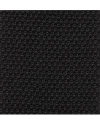 Paul Smith - Black 6cm Knitted Wool Tie for Men - Lyst