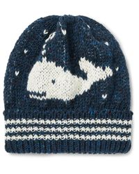 Thom Browne | Blue Whale Jacquard-knit Wool And Mohair-blend Beanie for Men | Lyst