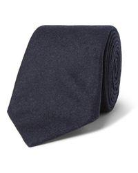 Brunello Cucinelli - Blue - 7cm Cashmere Tie - Navy for Men - Lyst