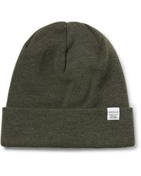 Norse Projects - Green Merino Wool Beanie for Men - Lyst