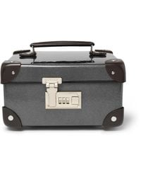 Globe-Trotter | Gray Leather-trimmed Watch Case for Men | Lyst