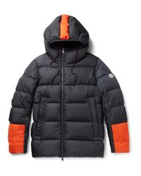 Moncler - Blue Drake Quilted Shell Hooded Down Jacket for Men - Lyst