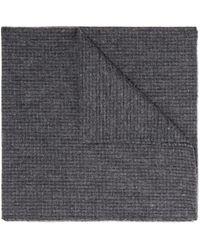Oliver Spencer | Gray Mélange Cotton Pocket Square for Men | Lyst