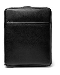 Valextra - Black Pebble-grain Leather Carry-on Case for Men - Lyst