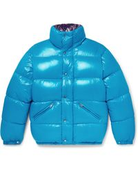 Moncler | Blue Dejan Quilted Shell Hooded Down Jacket for Men | Lyst
