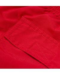 Polo Ralph Lauren - Red Traveler Mid-length Swim Shorts for Men - Lyst