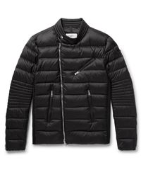 Moncler - Black Aubin Quilted Shell Down Jacket for Men - Lyst