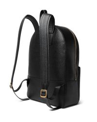 Thom Browne - Black Pebble-grain Leather Backpack for Men - Lyst