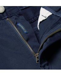 Polo Ralph Lauren - Blue Stretch-cotton Twill Trousers for Men - Lyst