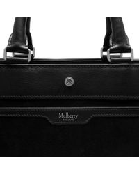 Mulberry Black Chester Leather Satchel