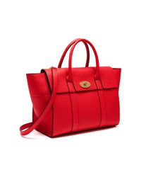 Mulberry - Red Bayswater With Strap - Lyst
