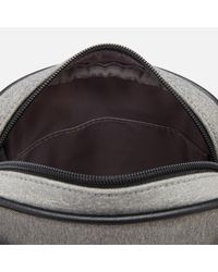 Ted Baker | Gray Niamh Core Nylon Flight Bag for Men | Lyst