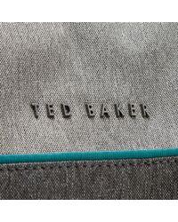 Ted Baker - Black Cheetz Core Nylon Holdall Bag for Men - Lyst