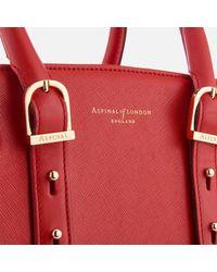 Aspinal - Red Marylebone Medium Tote Bag - Lyst