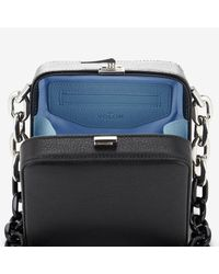 The Volon - Black Cube Chain Bag - Lyst