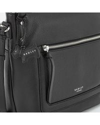 Radley - Black Eltham Palace Medium Shoulder Bag With Zip Top - Lyst