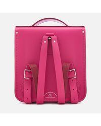 Cambridge Satchel Company | Pink Small Portrait Backpack | Lyst