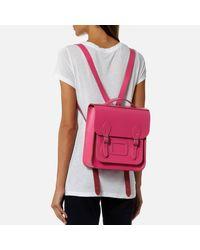 Cambridge Satchel Company - Pink Small Portrait Backpack - Lyst
