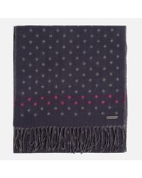 Ted Baker - Blue Redpine Spot Scarf for Men - Lyst