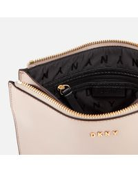 DKNY - Multicolor Flat Top Zip Cross Body Bag - Lyst