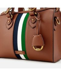 Lauren by Ralph Lauren - Brown Chesterfield Small Duffle Bag - Lyst