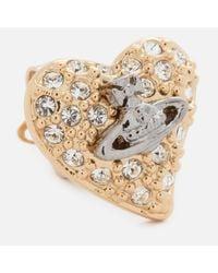 Vivienne Westwood - Metallic Women's Tiny Diamante Earrings - Lyst