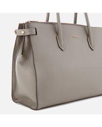 Furla - Gray Pin Medium East West Tote Bag - Lyst