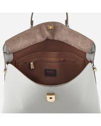 Furla Multicolor My Piper Medium Top Handle Tote Bag