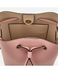 Lauren by Ralph Lauren - Pink Dryden Debby Mini Drawstring Bag - Lyst