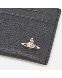 Vivienne Westwood - Black Milano Small Card Holder for Men - Lyst