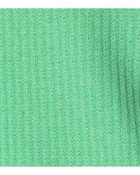 Jardin Des Orangers - Green Ribbed Cashmere Sweater - Lyst