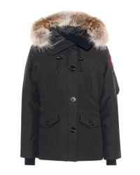Canada Goose | Black Montebello Down Jacket | Lyst