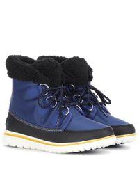 Sorel - Blue Cozytm Carnival Ankle Boot - Lyst