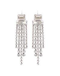 Isabel Marant | Metallic Crystal-embellished Earrings | Lyst