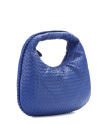 Bottega Veneta - Blue Veneta Medium Leather Shoulder Bag - Lyst