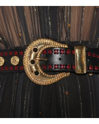 Dodo Bar Or - Multicolor Gabrielle Embellished Leather Belt - Lyst