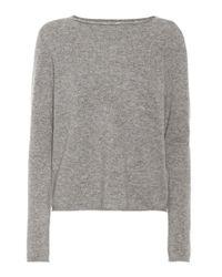 Jardin Des Orangers - Gray Cashmere Sweater - Lyst