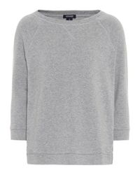 Woolrich - Gray W's Cotton-fleece Sweater - Lyst