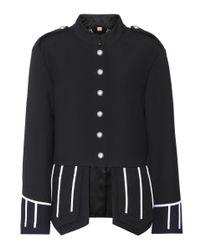 Burberry - Blue Ridgeton Wool Jacket - Lyst