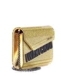 Jimmy Choo - Metallic Candy Box Clutch - Lyst