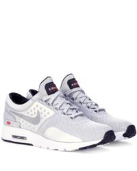 Nike - Gray Air Max Zero Qs Sneakers - Lyst